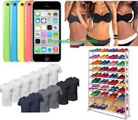 Logo Groupon Shopping con sconti fino al 85% di sconto: iPhone 5, bikini, scarpiera, t-shirt e molto altro