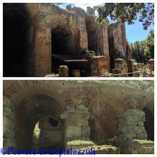 Parte esterna dell'anfiteatro flavio di Pozzuoli
