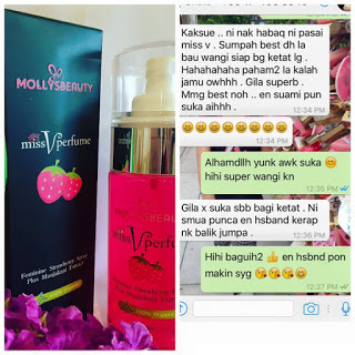 miss v perfume, minyak wangi miss v, cara hilangkan bau vagina