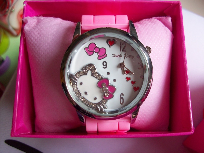 Jam Tangan Jelly Hello Kitty Kitty Lover S