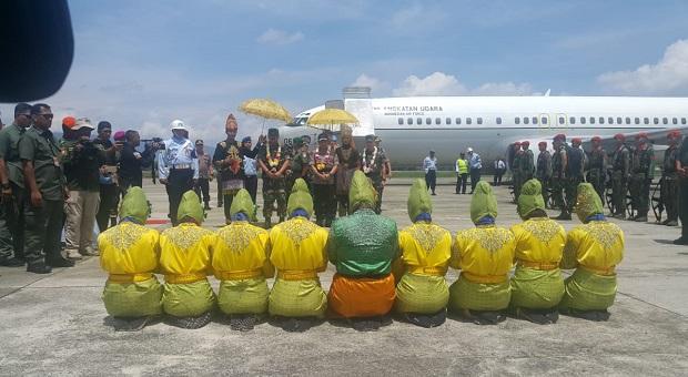 Panglima TNI Tiba di Nanggroe Aceh Darussalam