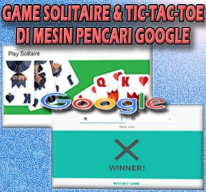 Google Rilis Game Solitaire dan Tic-tac-toe yang Bisa Dimainkan di Mesin Pencari Google