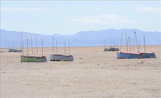 Desapare uno de los lagos mas grandes de bolivia.