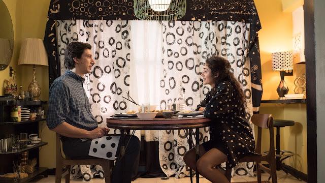 Adam Driver et Golshifteh Farahani dans Paterson de Jim Jarmusch (2016)