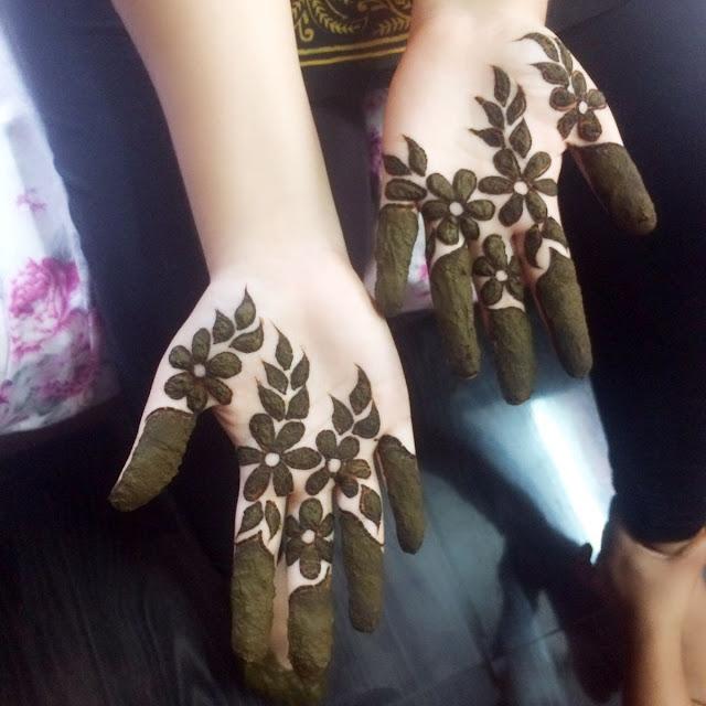 75 Latest Finger Mehndi Designs to try in 2019 ~ Velvet Bytes