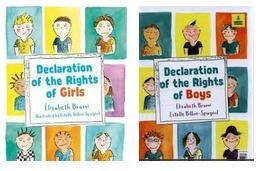 Declaration of the Rights of Boys & Girl by Élisabeth Brami & Estelle Billon-Spagnol
