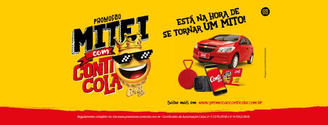 """Promoção: """"Mitei com Conti Cola"""" Blog Top da Promoção #topdapromocao www.topdapromocao.com.br"""