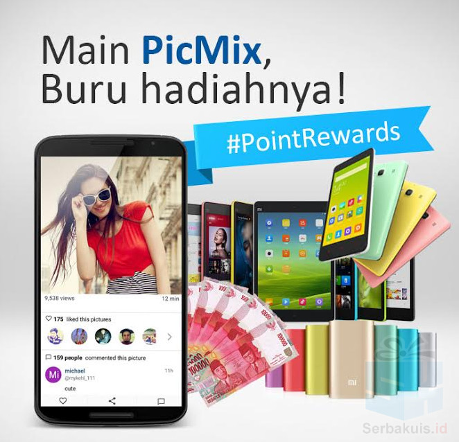 Point Rewards Main Picmix Berhadiah Utama 25 Juta Rupiah