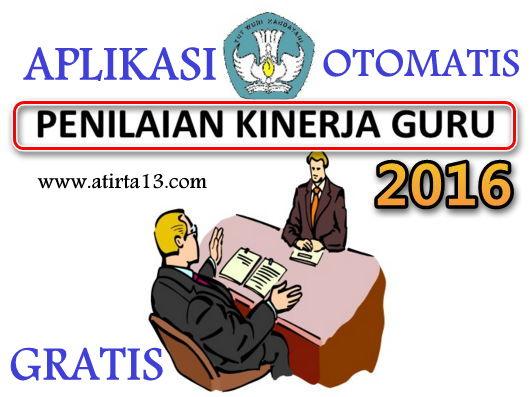 Aplikasi Penilaian Kinerja Guru OTOMATIS GRATIS