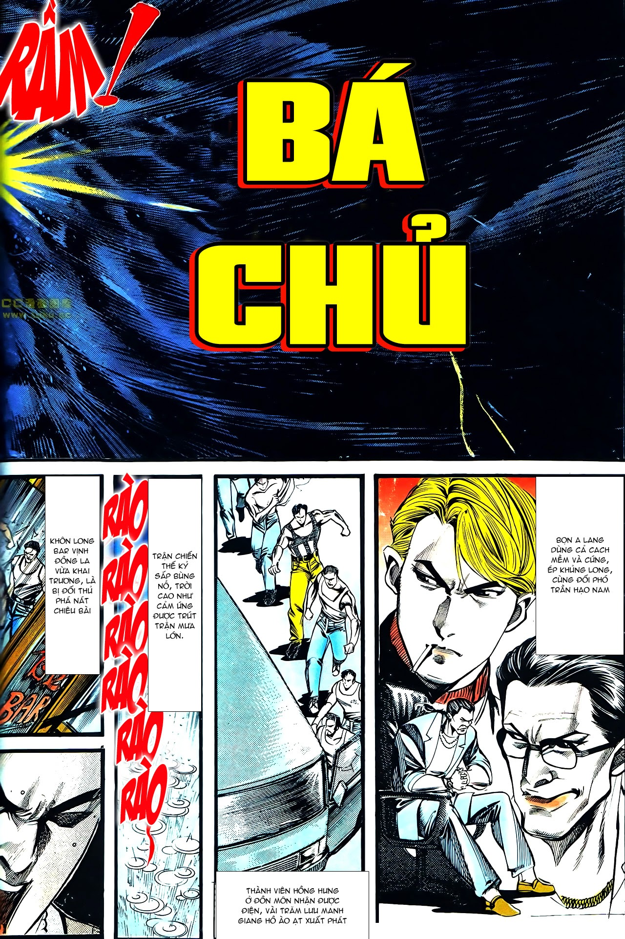 Người Trong Giang Hồ chapter 126: bá chủ trang 3