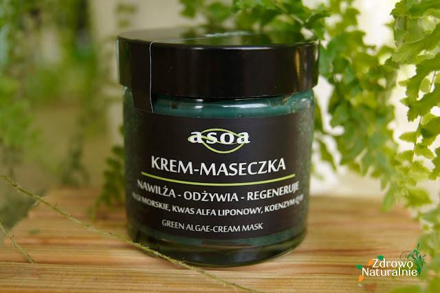 ASOA - Krem - Maseczka algi morskie