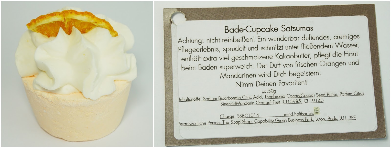 Badegeister - Bade-Cupcake Satsumas