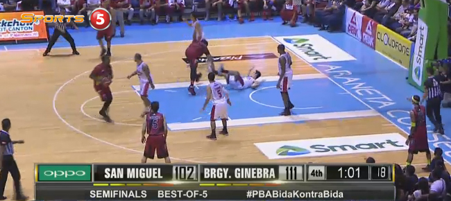 Brgy. Ginebra def. San Miguel, 115-108 (REPLAY VIDEO) September 26 - SEMIS Game 1