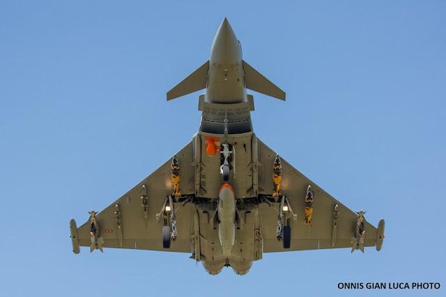 Eurofighter flight test P3Eb configuration