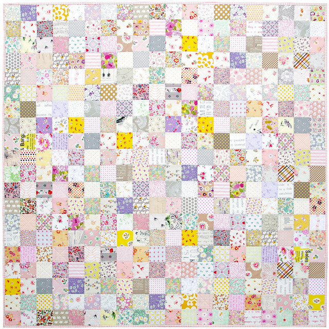 The Color Purple - A Finished Quilt | Red Pepper Quilts 2015