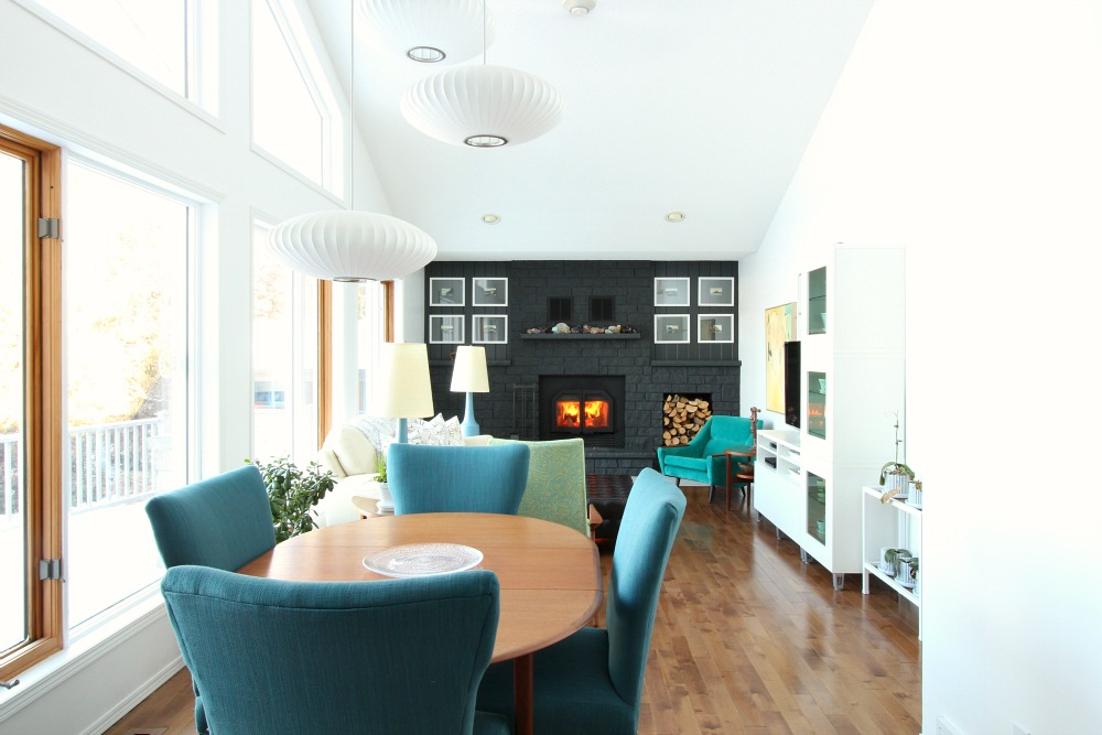 Mid-century Modern Inspired Living Room