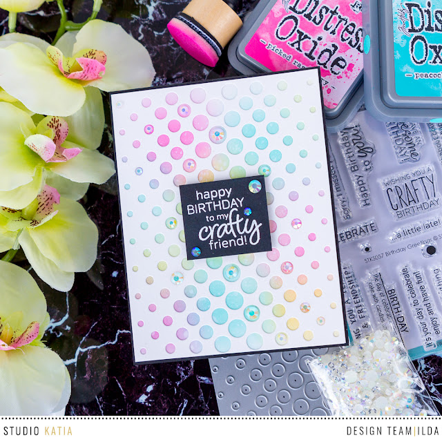 Crafty Friend Birthday Card by ilovedoingallthingscrafty