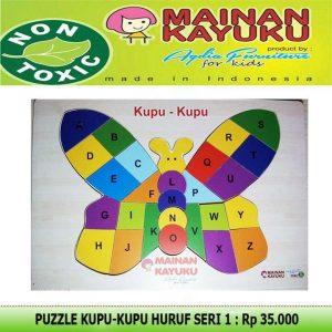 Puzzle Kupu-kupu Seri 01