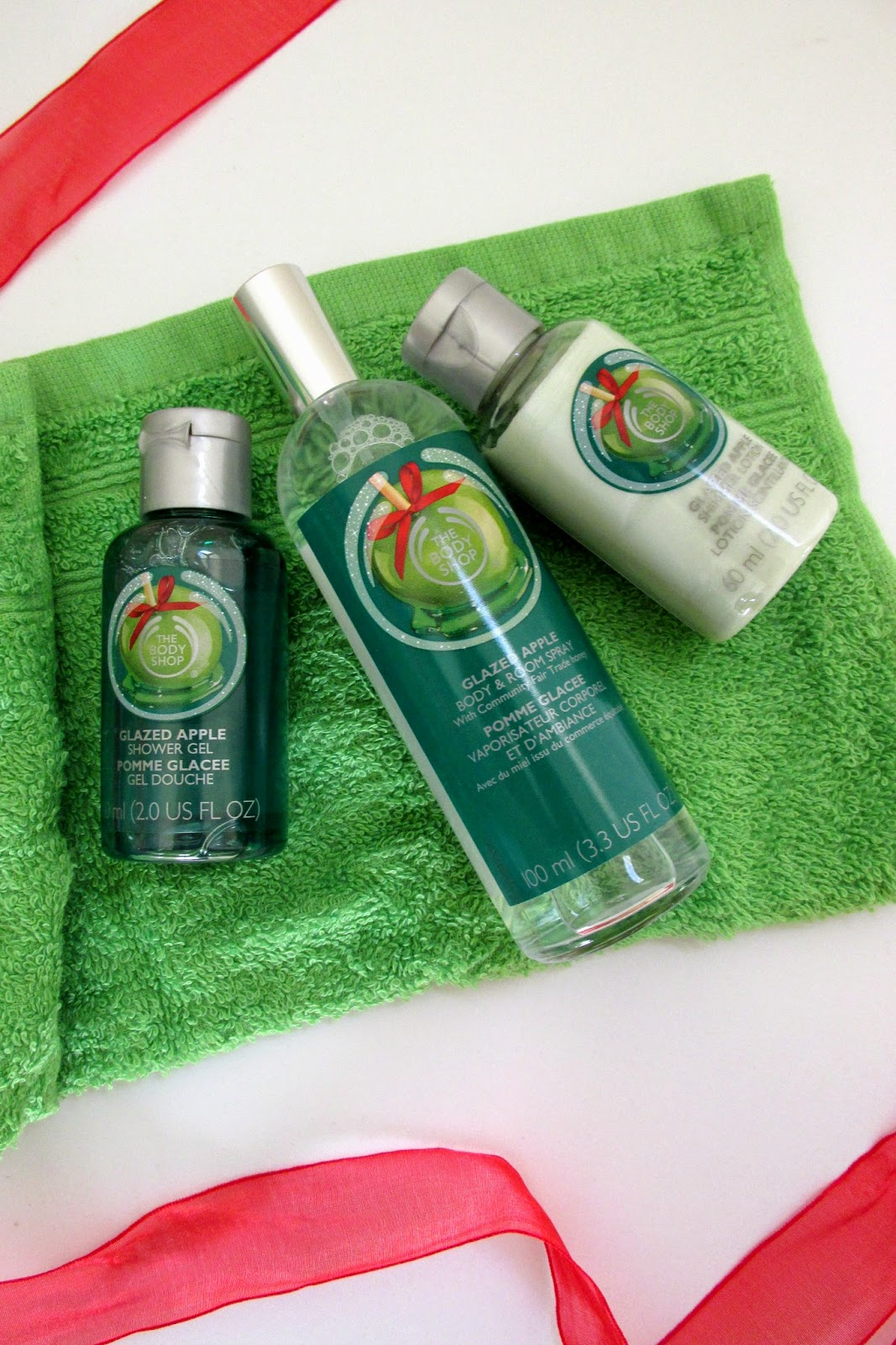 The Body Shop Special Edition Glazed Apple Set | Review