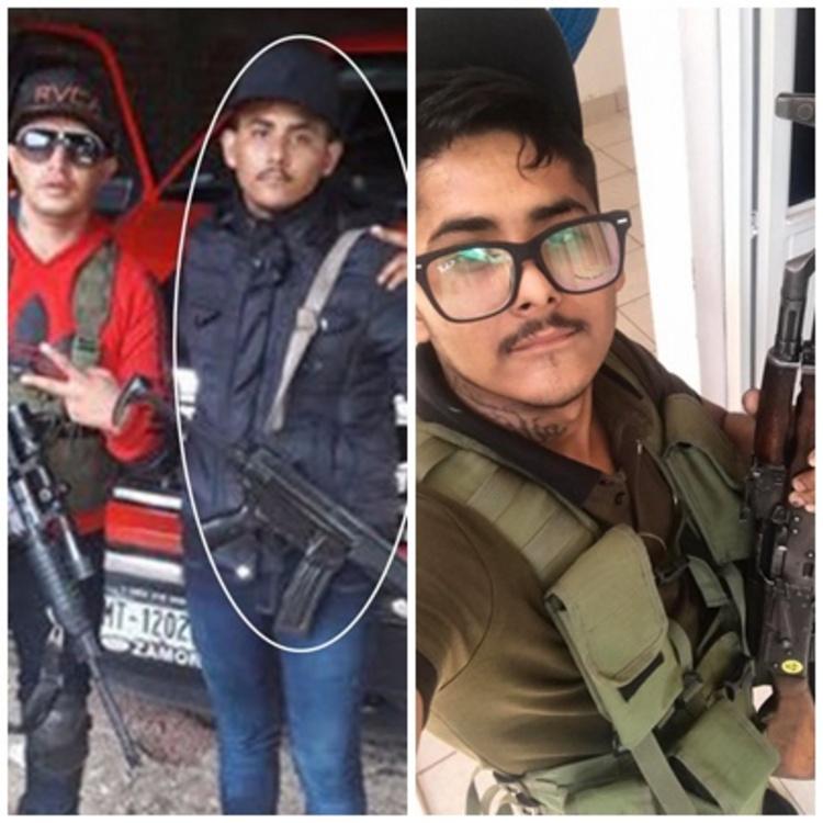 """Fotos: """"El Jordy"""", operador de """"Los Viagras"""" sería sobrino de """"El Mencho"""": Procurador"""