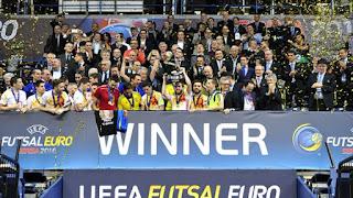 FÚTBOL SALA (Eurocup 2016) - España fue muy superior a los rusos y alzaron su séptimo título europeo