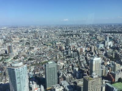 Vista de Tokyo desde Sunshine60