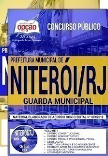 Apostila Prefeitura de Niterói 2019 - Guarda Civil Municipal