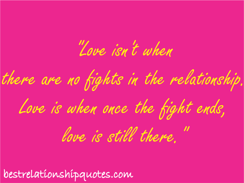 a relationship of love