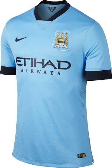 best cheap 22939 db7a9 New Manchester City 14-15 Kits - Footy Headlines