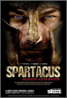 Série - Spartacus 1ª Temporada Completa Blood and Sand HDTV 720p + Legenda