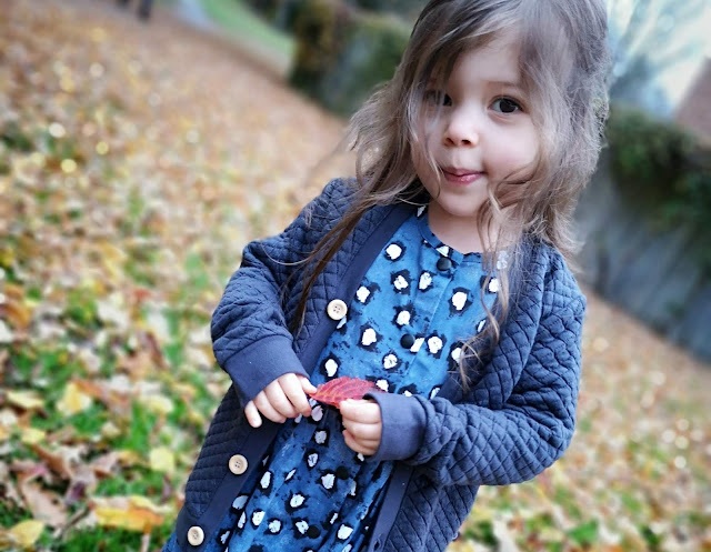 Review of Small Stories Painted Dot Blue Dress