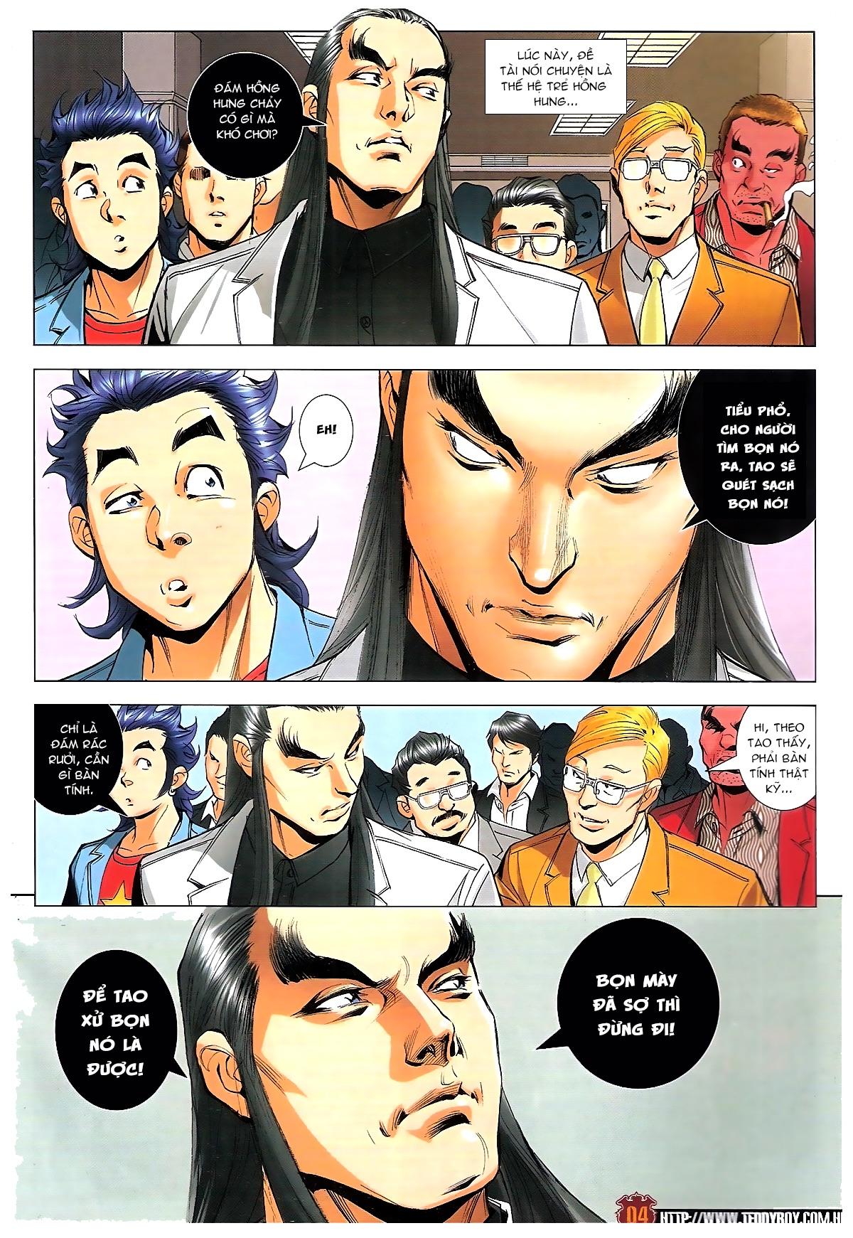 Người Trong Giang Hồ chapter 1814: trời giúp lương gia nhân trang 3
