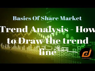 How to Draw The Trend Line | Basics of Share Market | Stock Picking Strategy