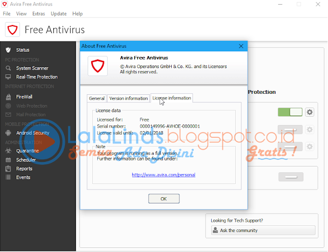 Download Avira Free Antivirus 15.0.27.34 Offline Installer