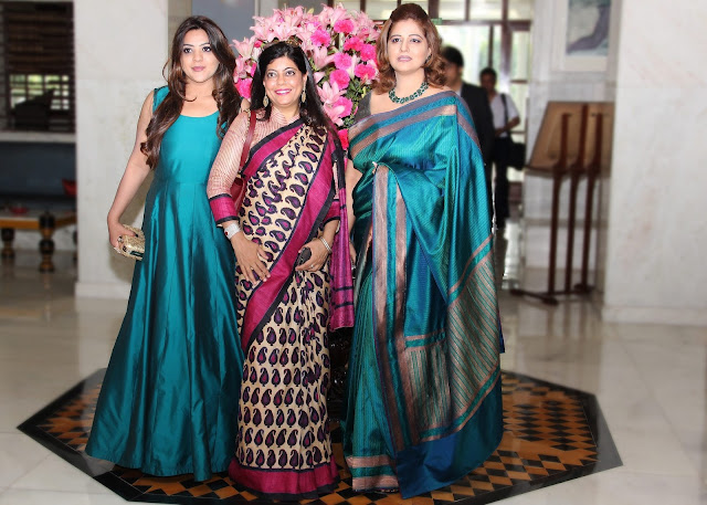 Richa Aggarwal with Renu Hussain