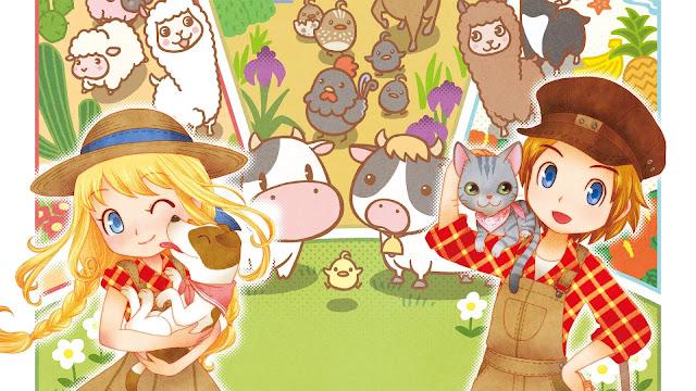 Marvelous dan Tencent Umumkan Game Harvest Moon Terbaru Untuk Mobile