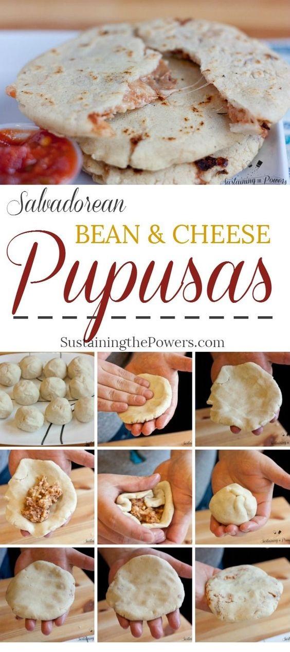 Bean and Cheese Pupusas