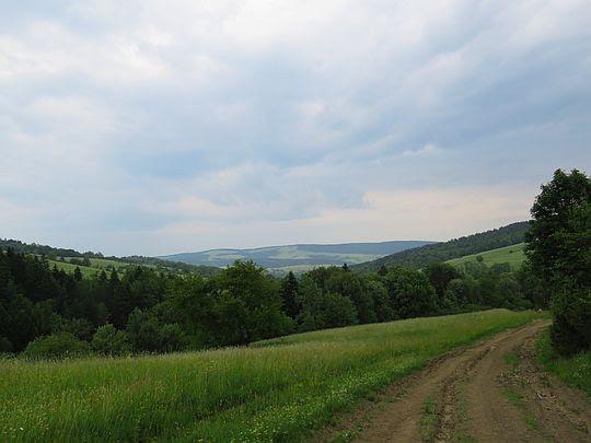 Przed doliną Płonki.