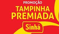 Promoção Tampinha Premiada Sinhá sinhaalimentos.com.br/tampinhapremiada