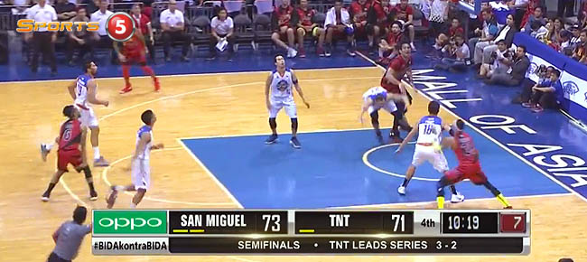 San Miguel def. TNT, 104-88 (REPLAY VIDEO) Semis Game 6 / February 18