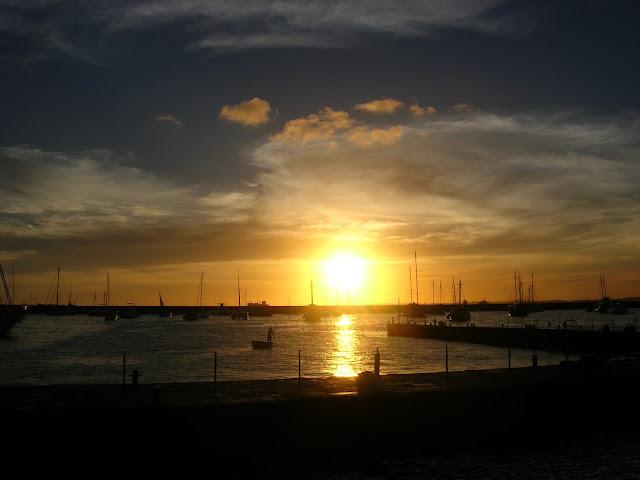 Pôr-do-sol Ilha de Itaparica Mercado Modelo Salvador Bahia Baía de Todos os Santos