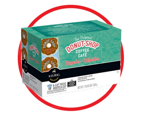 Keurig Donut Shop Coffee Giveaway