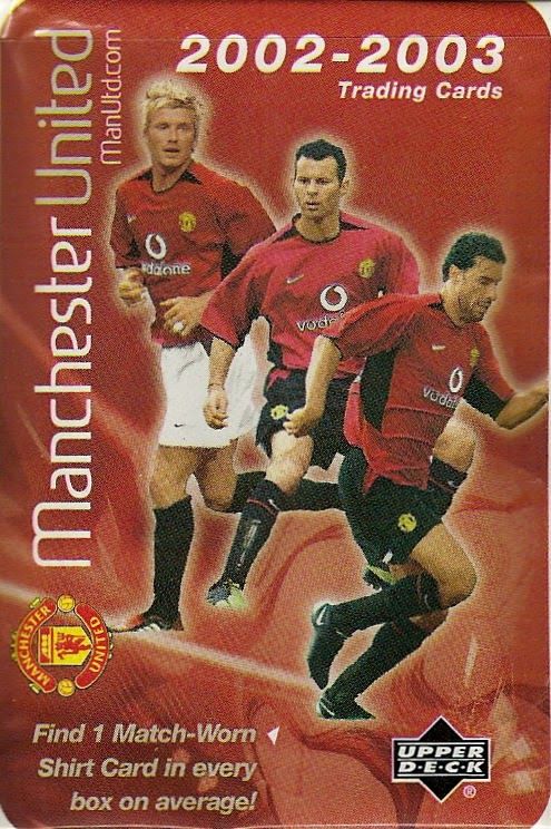 Voetbal Verzamelkaarten: sport UPPER DECK MANCHESTER UNITED 2002-2003 *PICK THE CARDS YOU NEED*