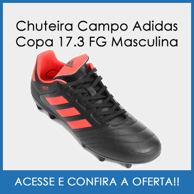 buy online chuteira campo adidas copa 17.3 fg masculina preto e . bc3714a7cf11a
