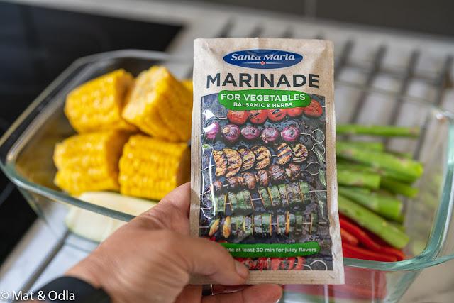 marinad grönsaker