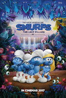 smurfs the lost village poster