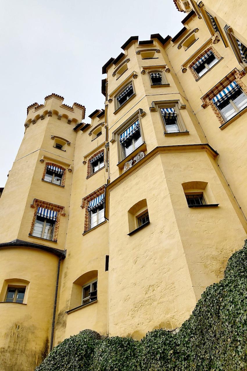 Schloss Hohenschwangau ganz nah