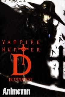 Ma Cà Rồng - Vampire Hunter D 2013 Poster