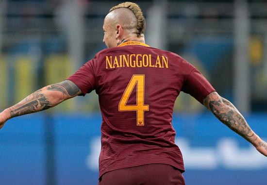 Nainggolan sớm rời bỏ Roma.