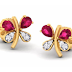 Mother's day special jewellery Velvet case - Stud earrings for mom